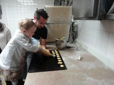 13 chouquettes Boulangerie