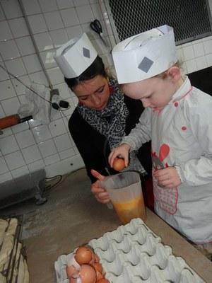 2 chouquettes Boulangerie