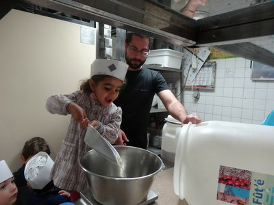 4 chouquettes Boulangerie