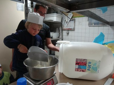 5 chouquettes Boulangerie