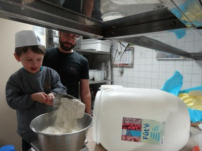 8 chouquettes Boulangerie