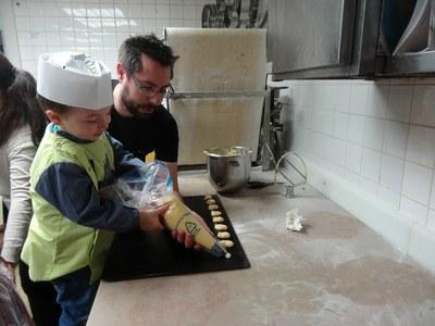 9 chouquettes Boulangerie